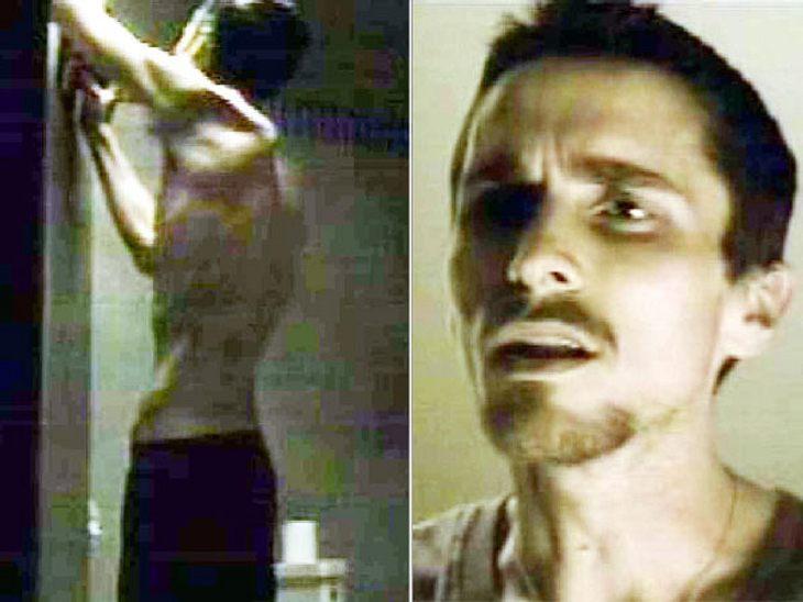 Stars im Gewichts-Chaos: Quälerei für die FilmrolleIm Film ist Christian Bale ausgemergelt und bis auf die Knochen runtergehungert. 30 Kilo musste er für diese Rolle abnehmen.