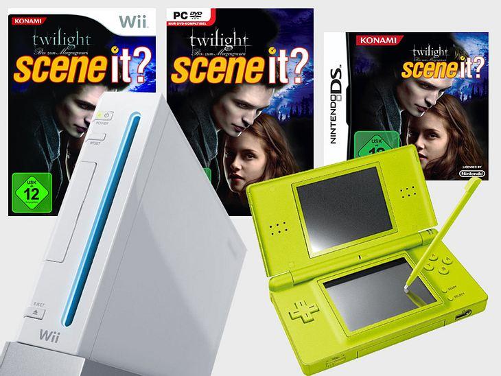 """Gewinne eine Wii-Konsole, ein Nintendo DS und das neue """"Twilight""""-Spiel"""