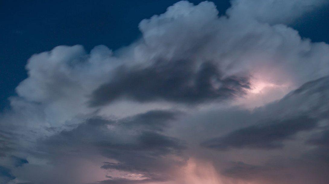 Wetterdienst warnt vor extremen Gewittern!