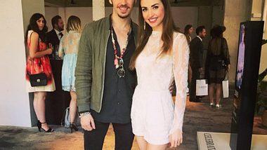 Gil Ofarim und Ekaterina Leonova bei der Fashion Week - Foto: Instagram/@ekatleonova