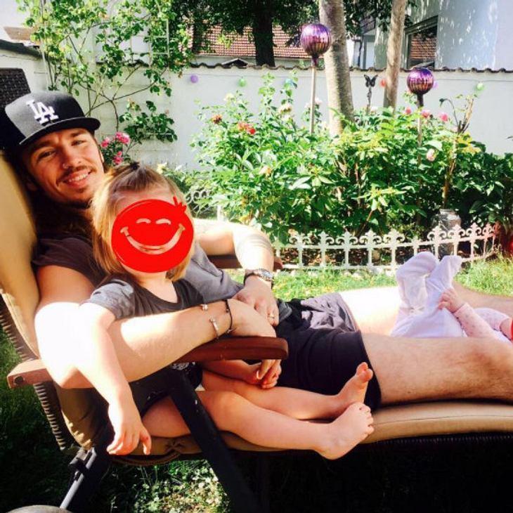 Gil Ofarim verbringt Zeit mit seinen Kindern