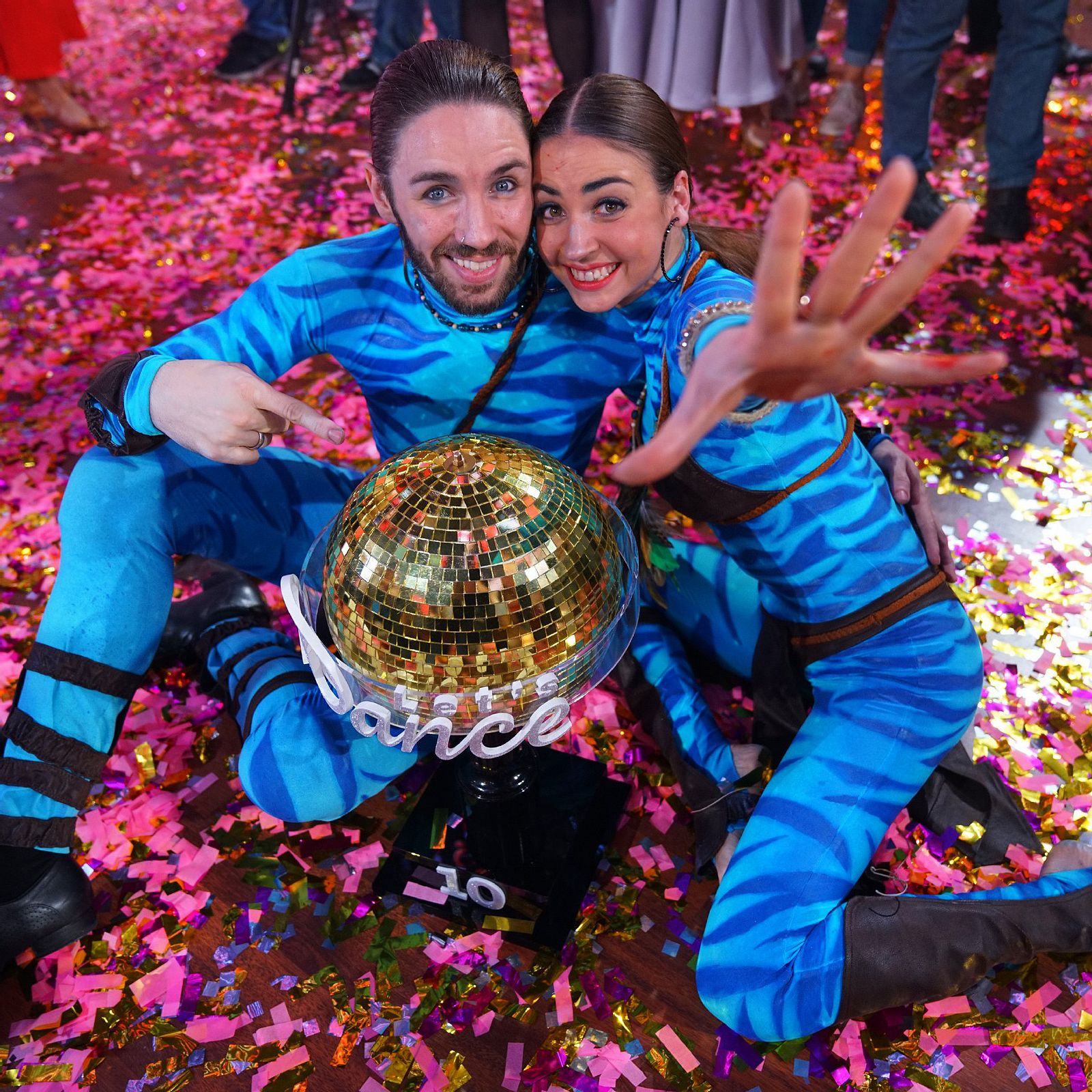 Lets Dance Gil Ofarim Tango