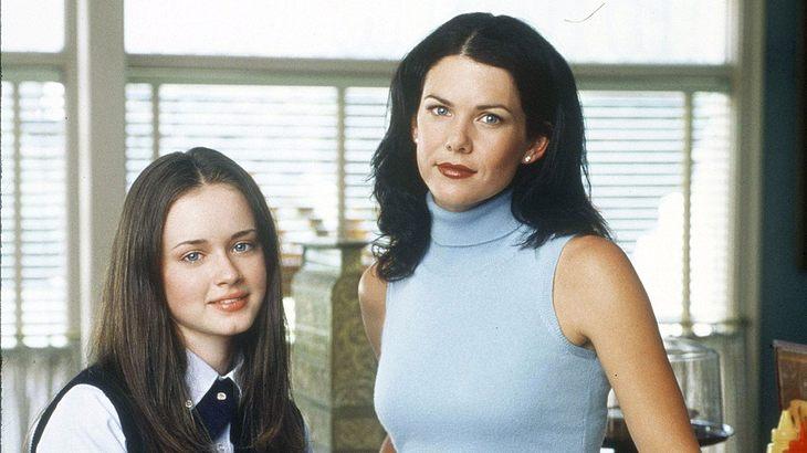 "Lorelai und Rory in ""Gilmore Girls"""