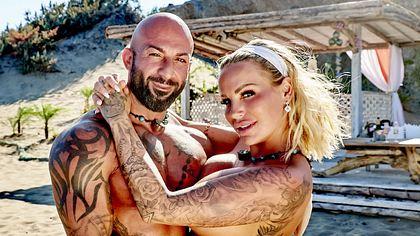 Gina-Lisa Lohfink und Antonino - Foto: MG RTL D