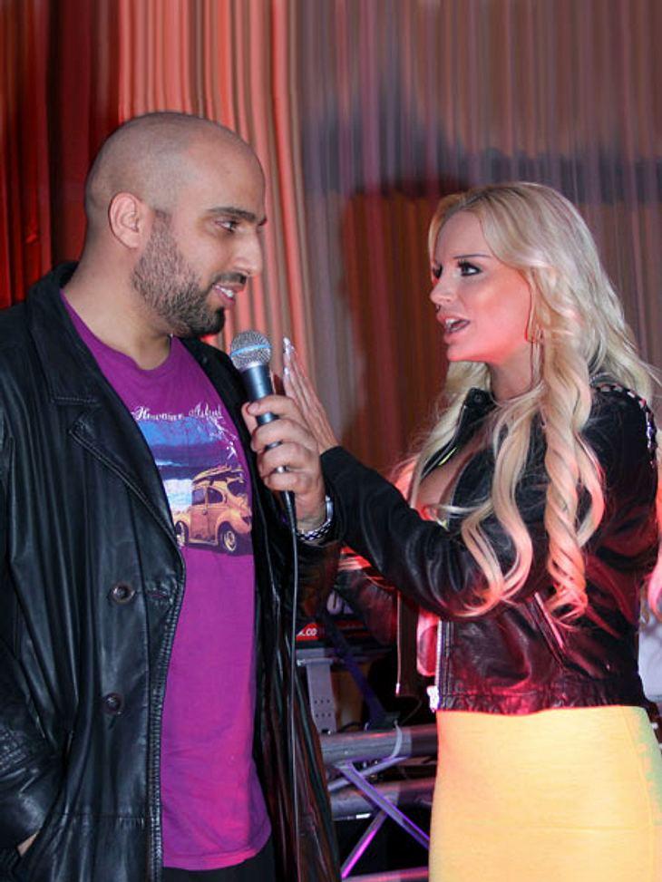 Gina-Lisa und Abdel Karim zoffen sich wegen Boateng