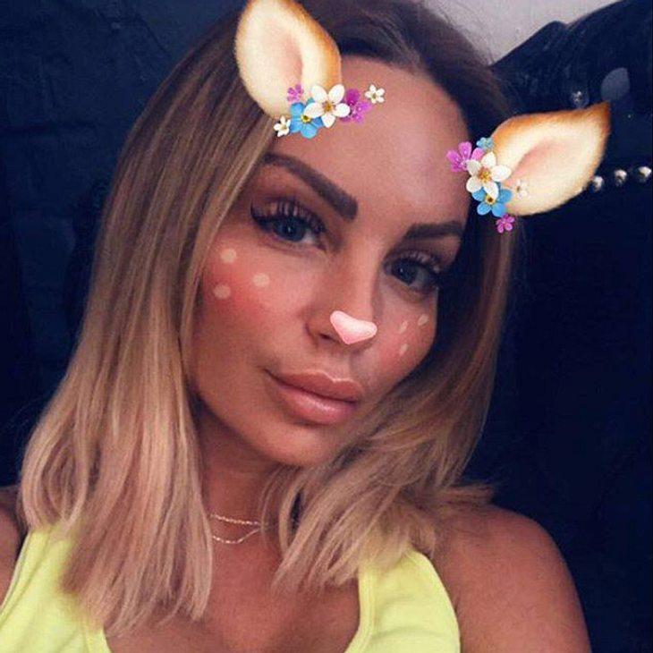 Gina-Lisa Lohfink trägt jetzt schulterlange Haare