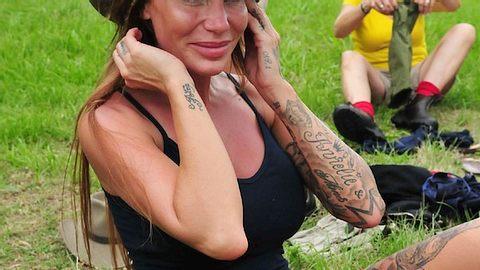 Trauriges Dschungel-Geständnis: Spricht Gina-Lisa hier über den Sextape-Prozess? - Foto: © RTL/Stefan Menne