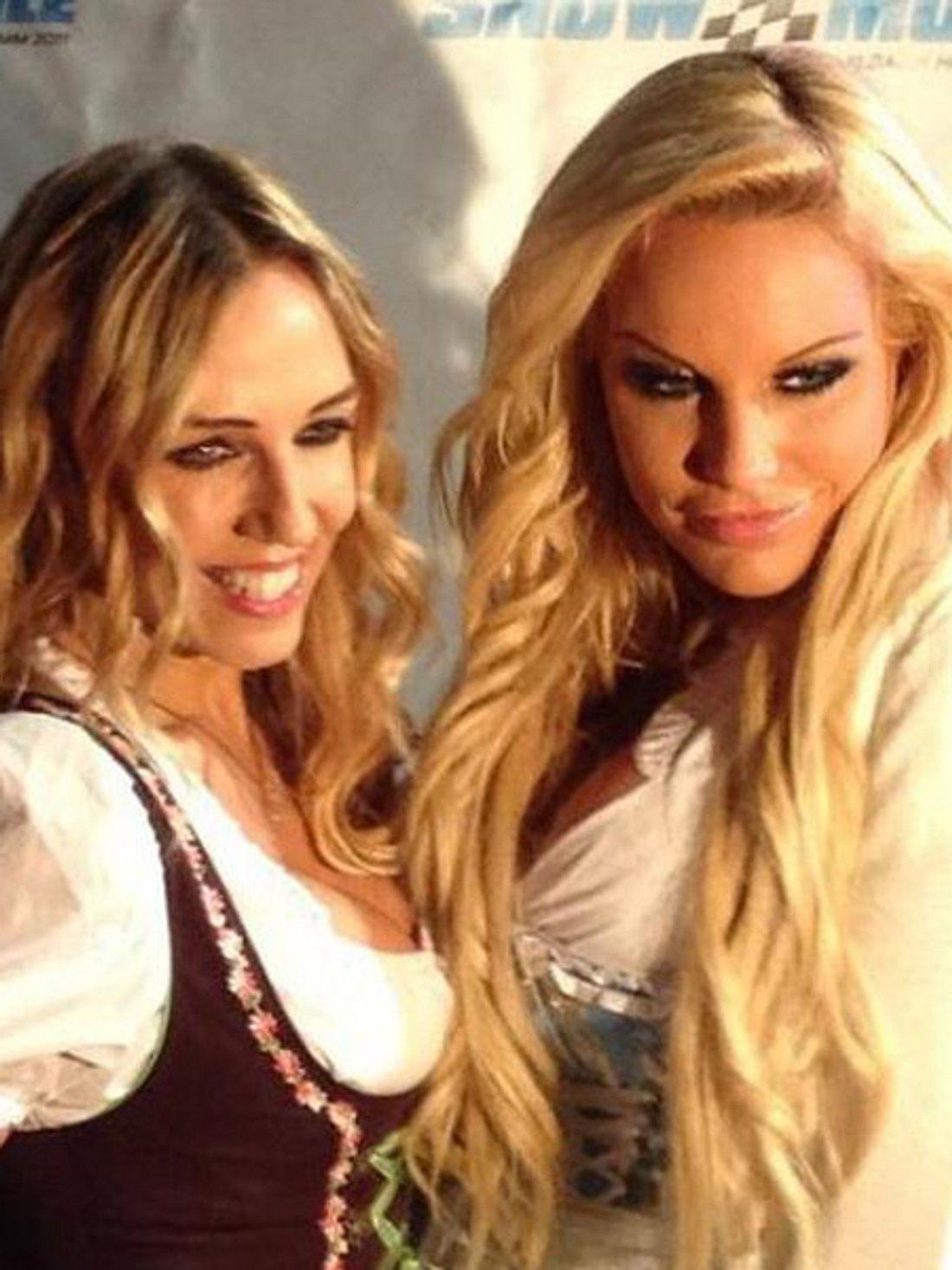 Gina-Lisa und Loona waren nie wirklich zusammen.