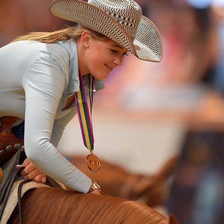 Im Westernreiten: Schumis Tochter holt WM-Gold für Deutschland