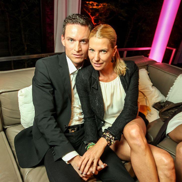 Giulia Siegel ist mit ihrem Frank im siebten Himmel