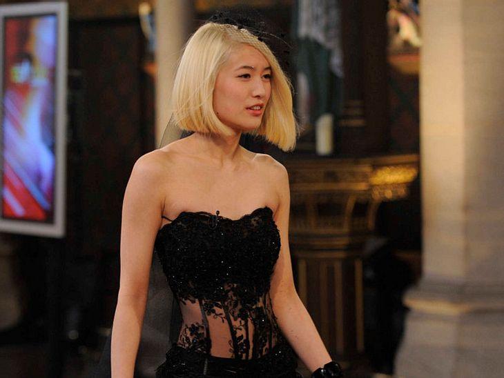 GNTM: Sihe ist nach dem Umstyling Blond