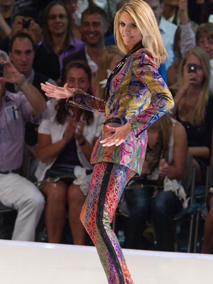 GNTM: Das FinaleAuch Heidi Klum dancte zu den Rhythmen von Gaga.
