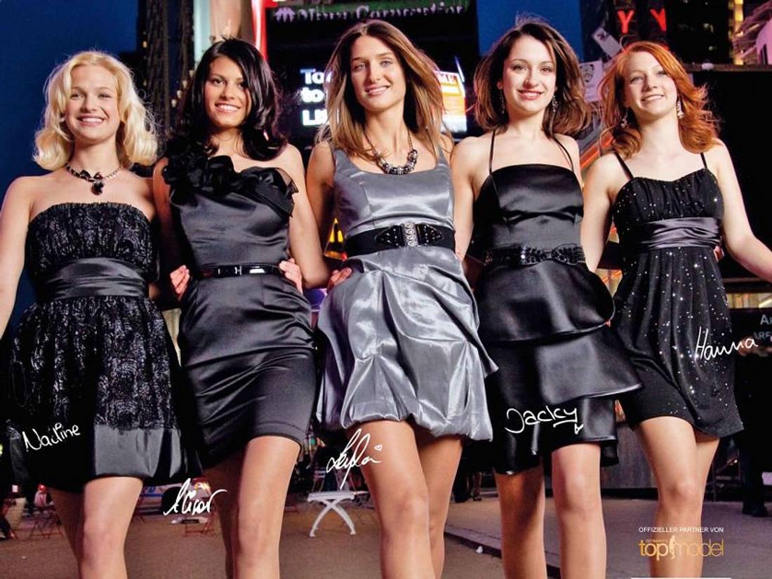 GNTM: Alisar, Nadine, Leyla, Jacky und Hanna posieren für die neue Kampagne von C&A.