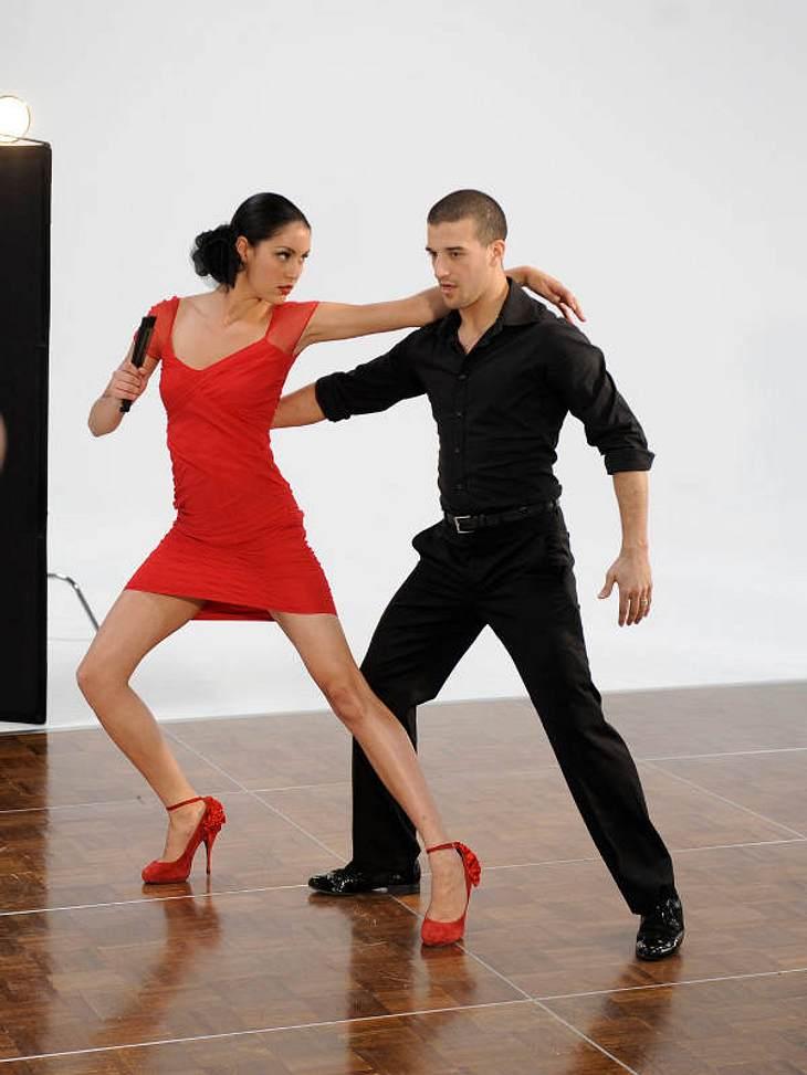 GNTM-Kandidatinnen geben Gas beim Tanz-Shooting