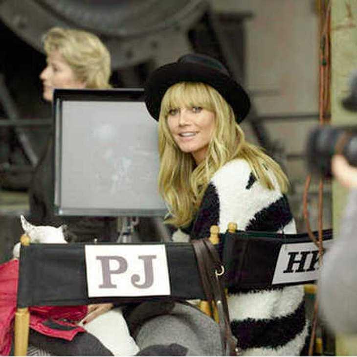 GNTM 2014: Heidi Klum trägt Pony statt Botox!