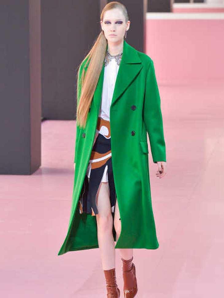 Ivana lief für Dior über den Laufsteg.