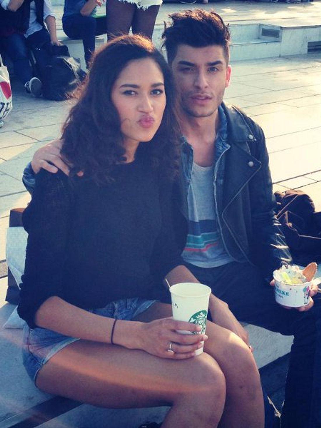 Lovelyn Enebechi und Toni Mahfud in Hamburg