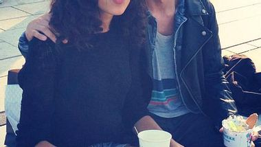 Lovelyn Enebechi und Toni Mahfud in Hamburg - Foto: Lovelyn Enebechi / Facebook
