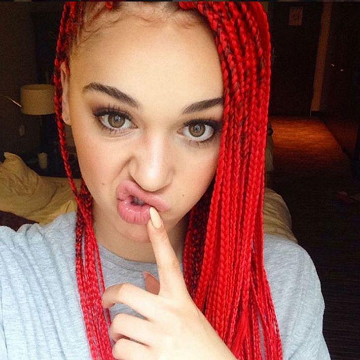 Luana hat jetzt rote Rastas