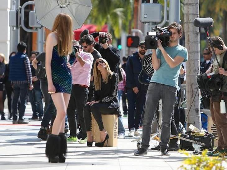GNTM 2013 - Das erste Foto-Shooting mit Heidis Mädchen