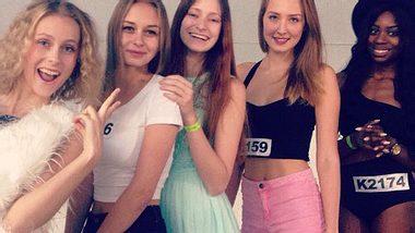 Die GNTM-Castings haben wieder begonnen - Foto: Facebook/ Germanys Next Topmodel