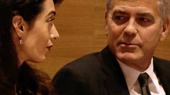 Amal und George Clooney: Sind ihre Zwillinge in Gefahr? - Foto: Getty Images