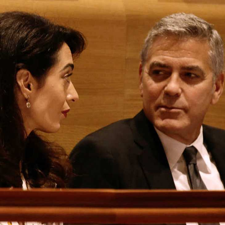 Amal und George Clooney: Sind ihre Zwillinge in Gefahr?
