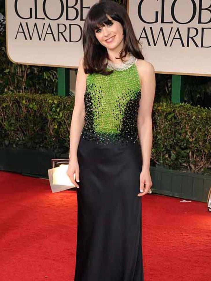 """Golden Globes 2012Auch Zooey Deschanel (31) war mit ihrer Serie """"New Girl"""" nominiert."""