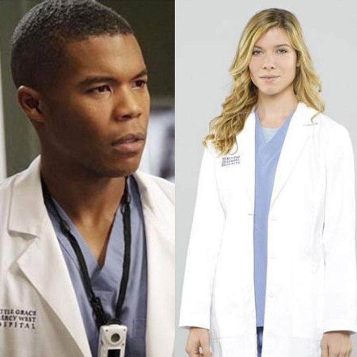 Dr. Shane Ross (Gaius Charles) und Dr. Leah Murphy (Tessa Ferrer)