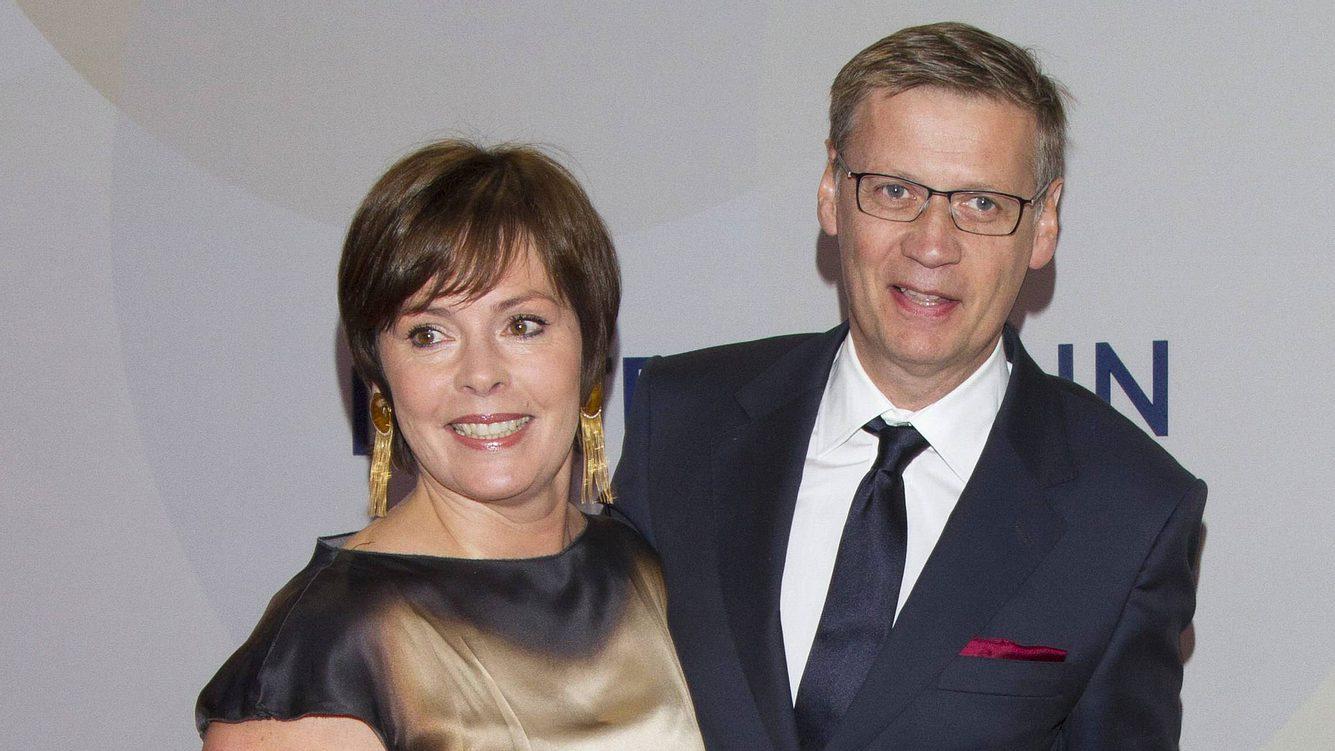 Günther Jauch mit Frau Dorothea Sihler