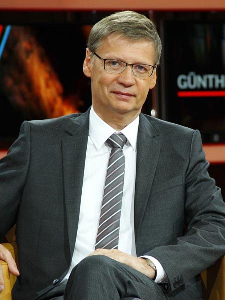 Günther Jauch gibt seine Talkshow auf