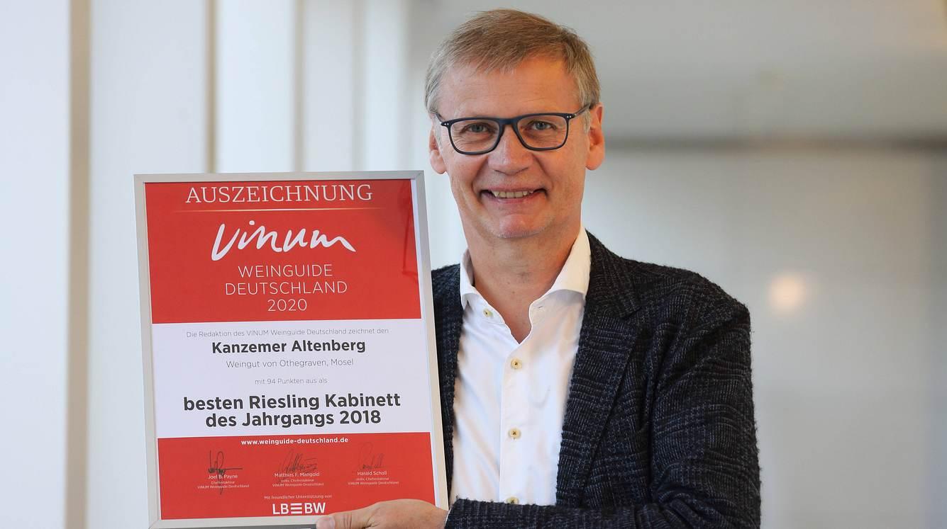 Günther Jauch besitzt ein Weingut