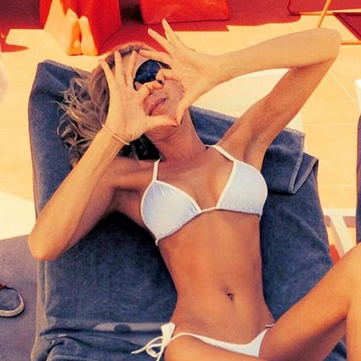 Guilia Siegel zeigt ihren mega-dünnen Body