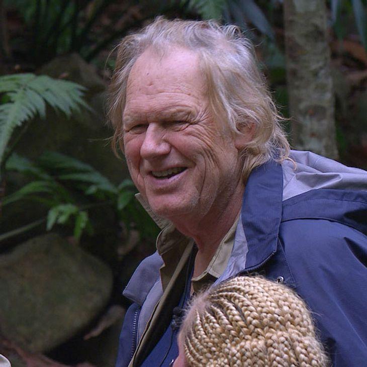 Gunter Gabriel verabschiedet sich aus dem Dschungelcamp