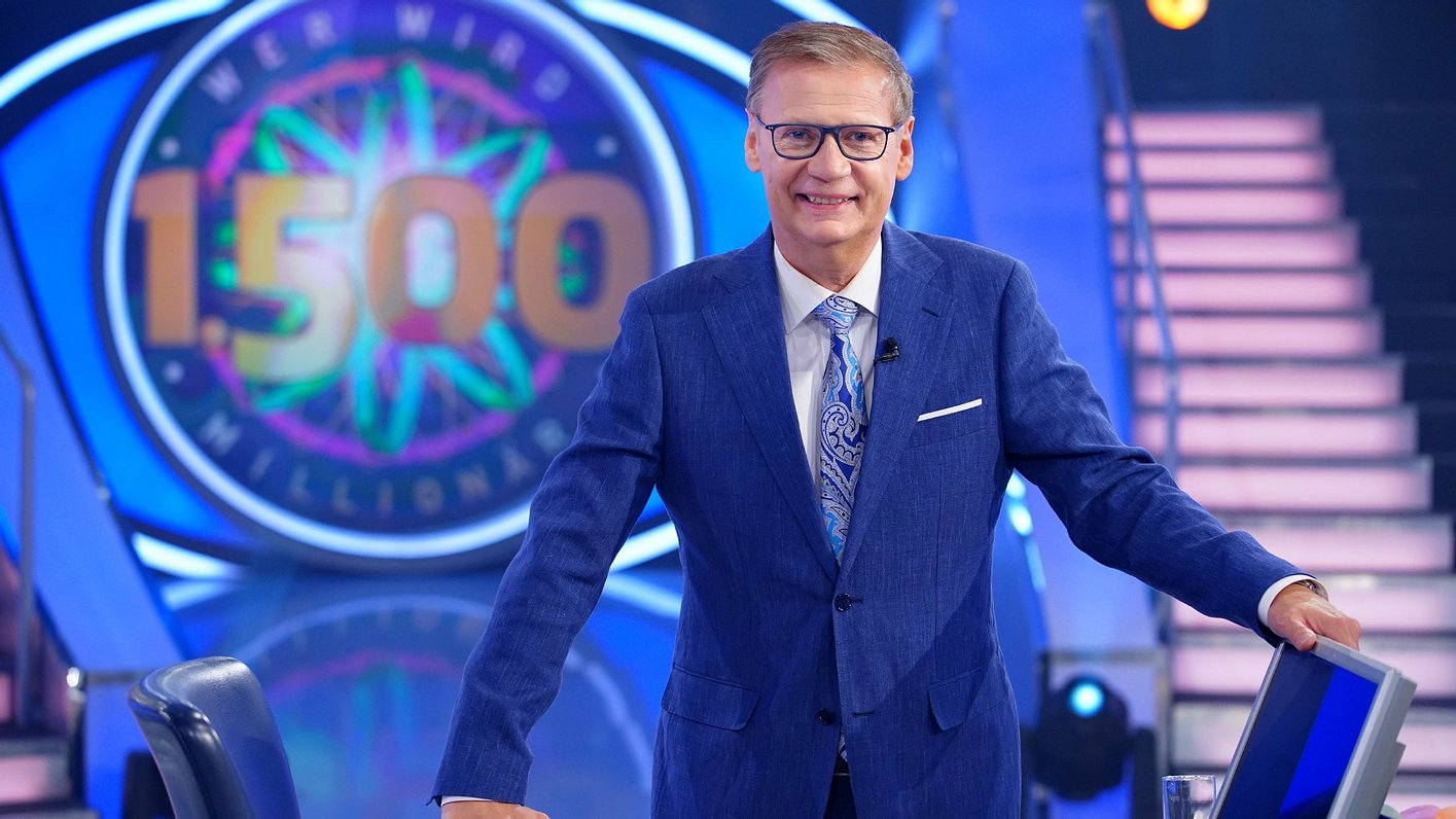 Wer wird Millionär-Moderator Günther Jauch