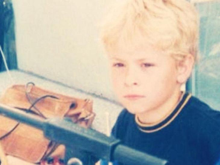 So süß war der kleine Gustav, als alles anfing