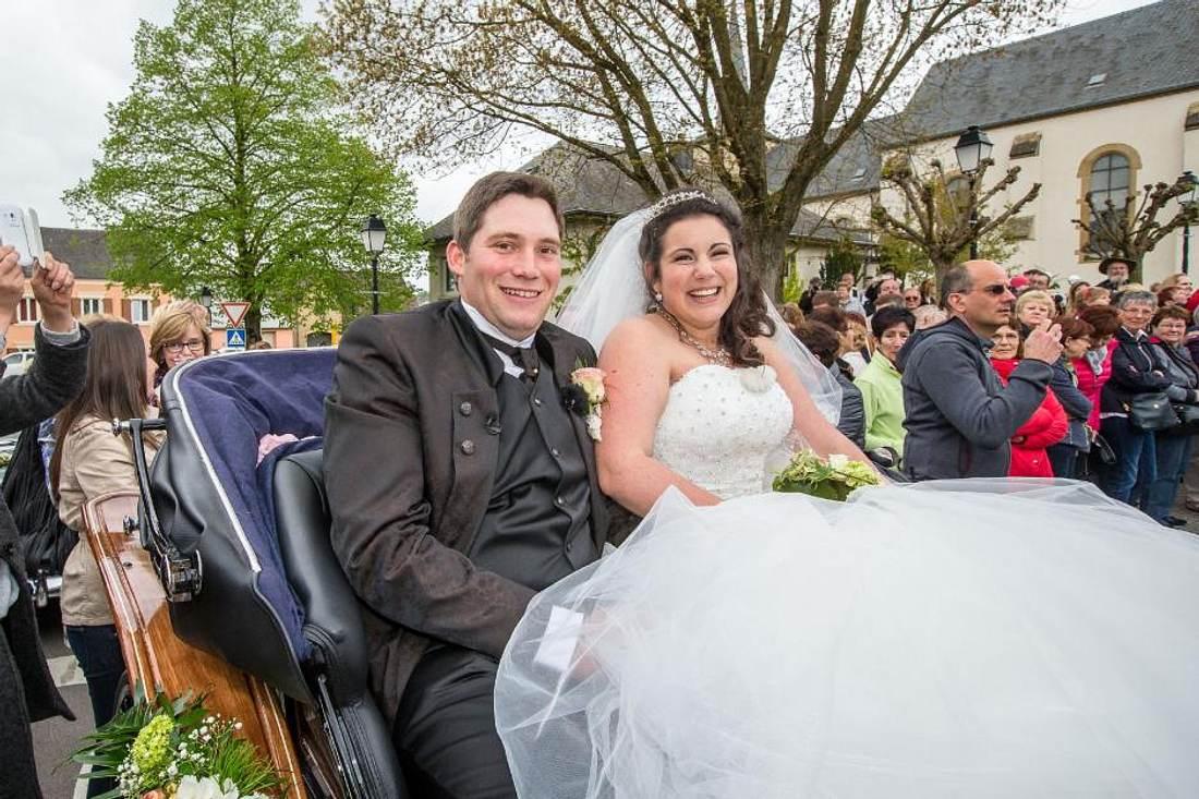 Guy und Victoria heiraten