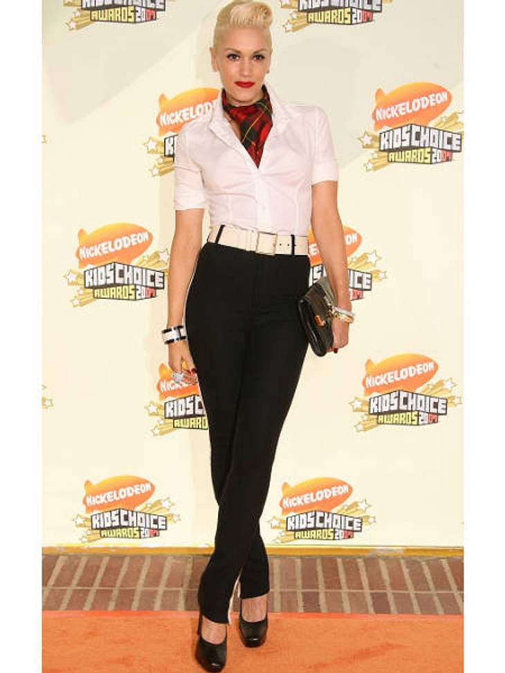 Der Look von Gwen StefaniRockabilly-Style bei den Kid's Choice Awards 2007.