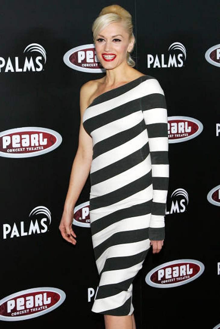 Der Look von Gwen StefaniIn Streifen zeigte sich Gwen Stefani bei der Eröffnung des The Pearl Concert Theaters in Las Vegas.