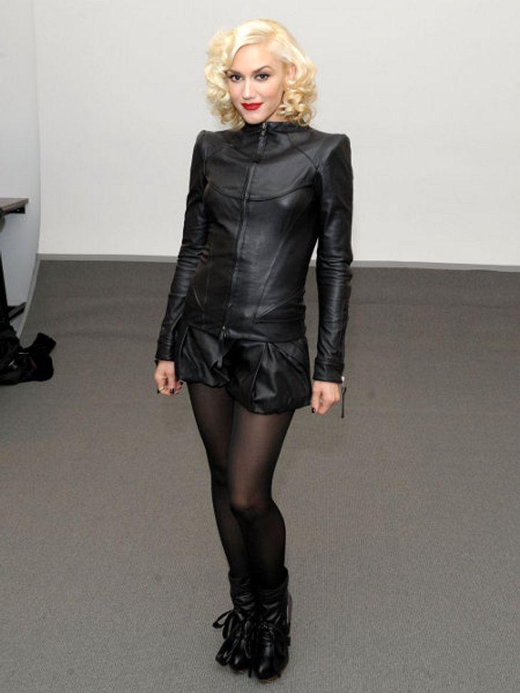 Der Look von Gwen StefaniGwen Stefani in einer Eigenkreation ihrer Linie L.A.M.B 2010.