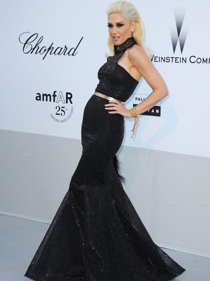 """Der Look von Gwen StefaniElegant und gleichzeitig sexy: Gwen Stefani bei der """"Cinema Against AIDS""""-Gala im Mai 2011."""