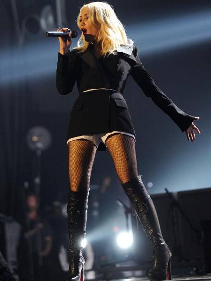 """MTV Europe Music Awards 2012 - Die HighlightsSie kann es immer noch: Gwen Stefani (43) sorgte zusammen mit ihrer Band """"No Doubt"""" für eine Extraportion Rock und Glamour."""