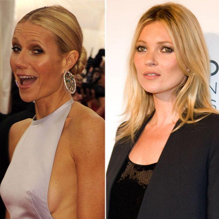 Die Läster-Attacken der StarsAuweia! Auf einer Party kriegten sich Gwyneth Paltrow (39) und Kate Moss (38) so dermaßen in die Haare, dass zwischen den beiden Blondinen am Ende ein Zickenkrieg der Extraklasse ausbrach. Der Schlagabtausch gip