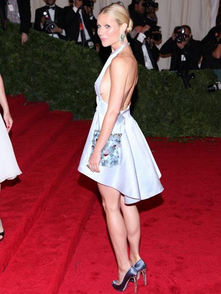 """Magere Stars""""Ich habe lange Zeit makrobiotisch gelebt, und als ich Kinder bekommen habe, ist mir das entglitten."""" Osteoporose war für Gwyneth Paltrow (39) das bittere Ergebnis. Und ihr Ehemann Chris Martin (35) macht sich große So"""