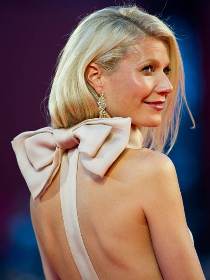 Star-Trend: SchleifeAuffällig ist dagegen die Schleife im Nacken von Gwyneth Paltrow. In Venedig zog sie damit alle Blicke auf sich.
