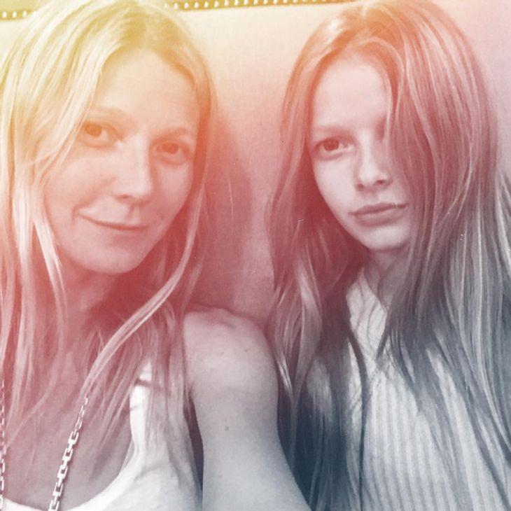 Gwyn und Apple sehen aus wie Schwestern