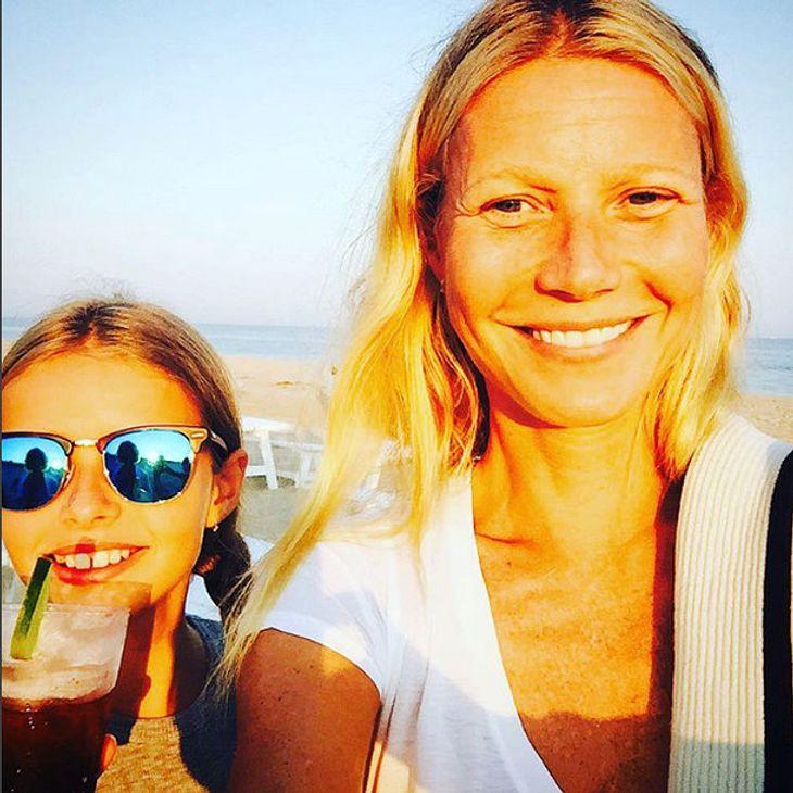 Gwyneth Paltrow mit Tochter Apple Martin