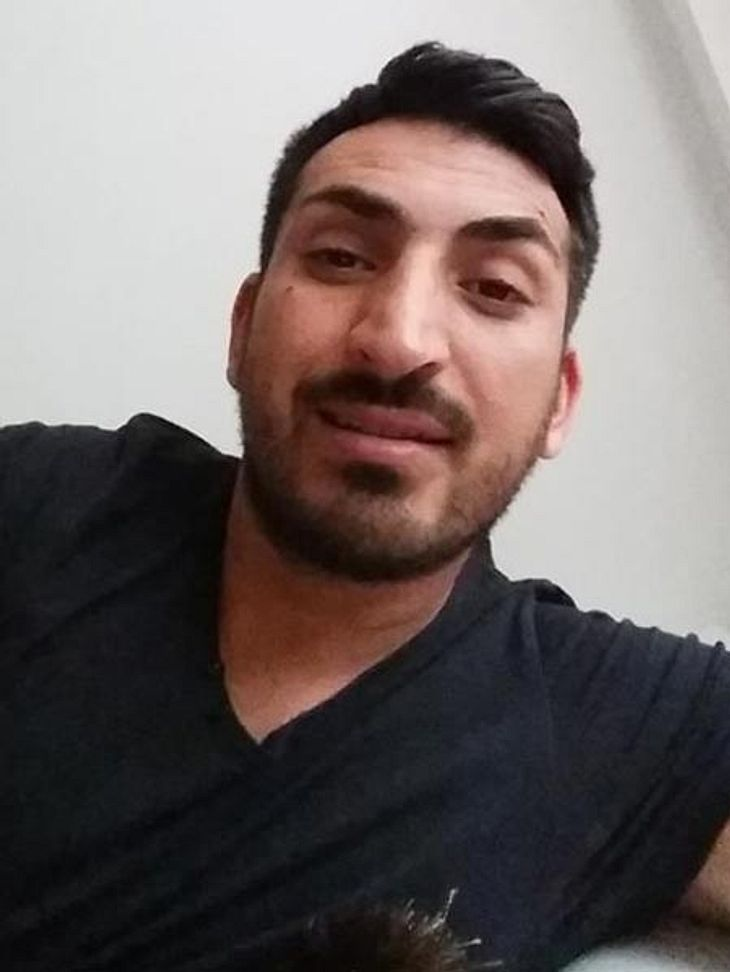 Mustafa Alin trägt jetzt Bart