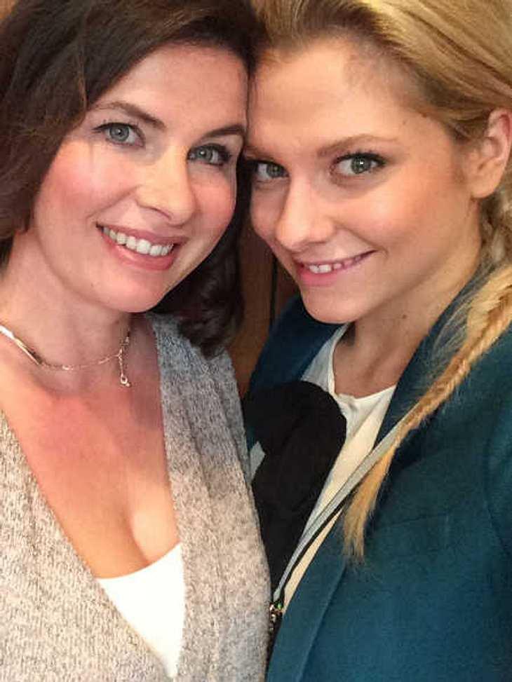 GZSZ: Serien-Mutter und -Tochter sind wieder vereint.