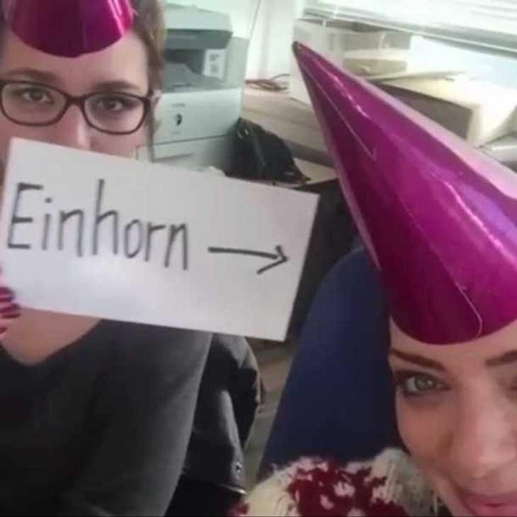 GZSZ-Beauty Anne Menden startet Einhorn-Karriere!